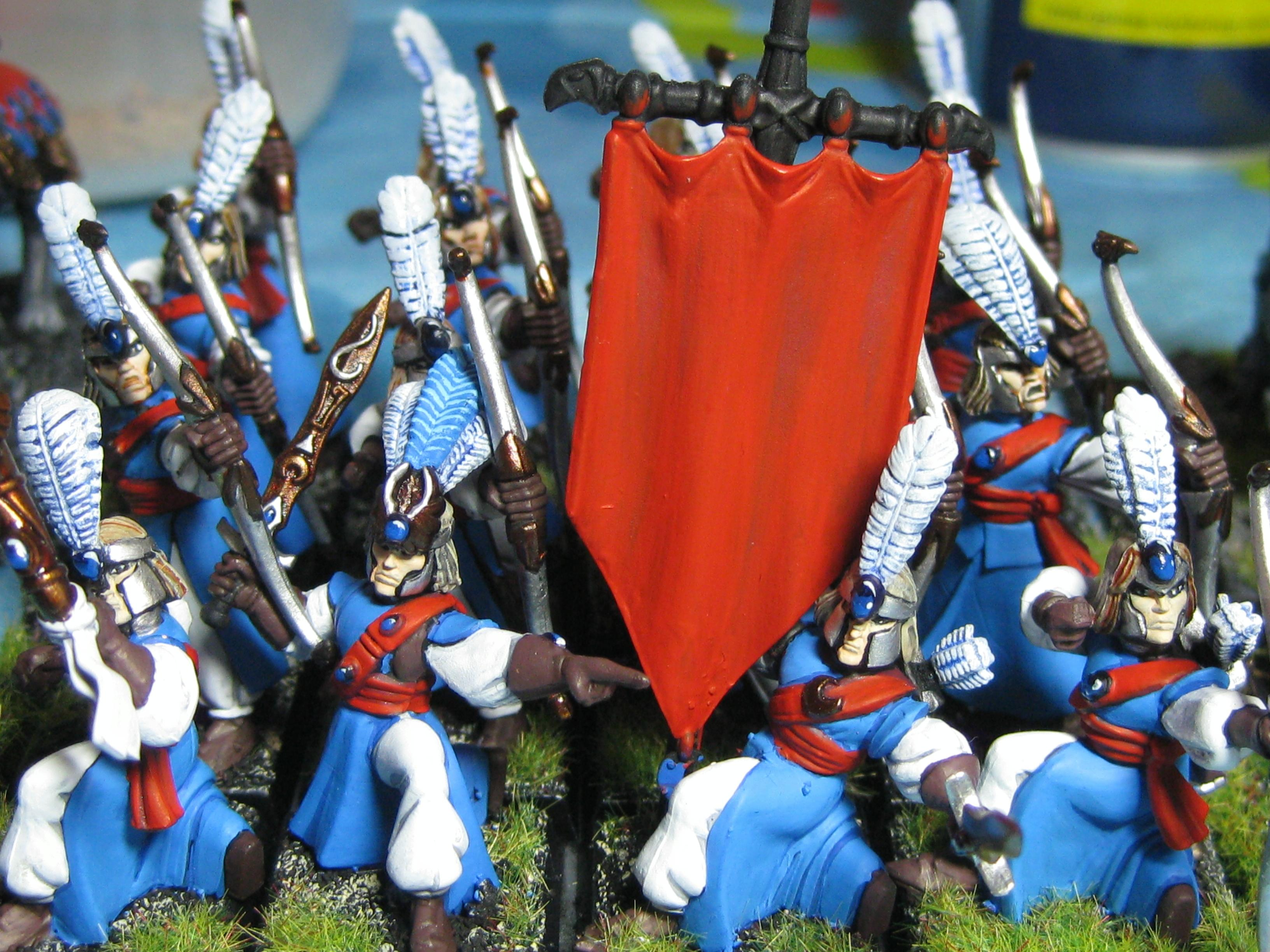 Archers, Banner, High Elves, Warhammer Fantasy