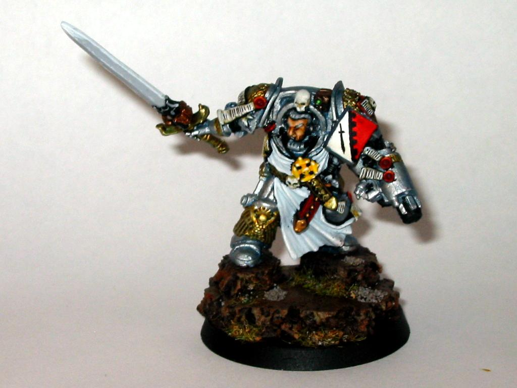 Captain, Grey Knights, Headquarters, Terminator Armor