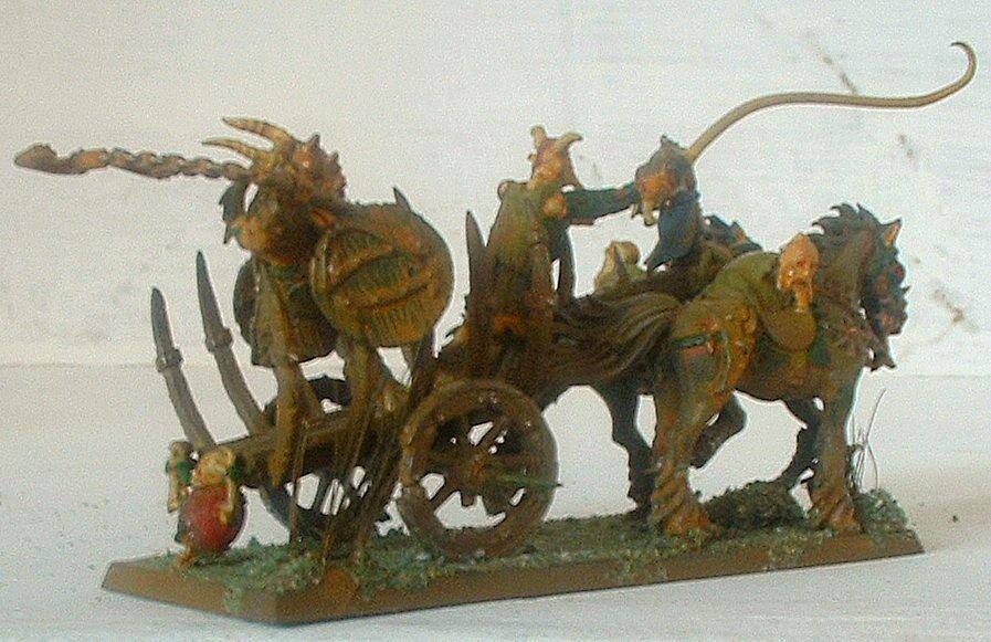 Beastmen, Chariot, Nurgle