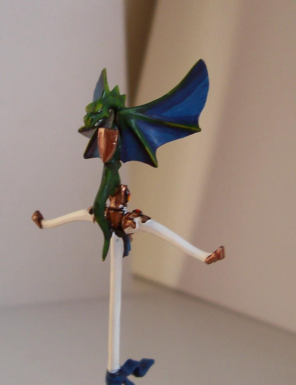 Conversion, High Elves, Standard Bearer, Warhammer Fantasy