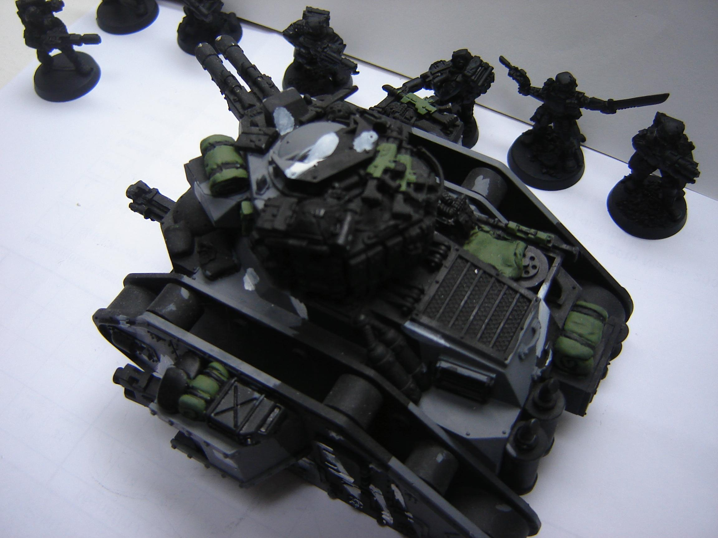 Armored Company, Basilisk, Hellhound, Imperial Guard, Leman Russ, Urban Camo