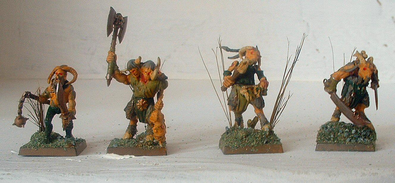 Beastmen, Command, Gor, Nurgle