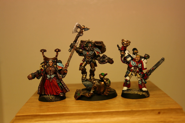 Blood Angels, Corbulo, Dante, Mephiston, Space Marines, Warhammer 40,000