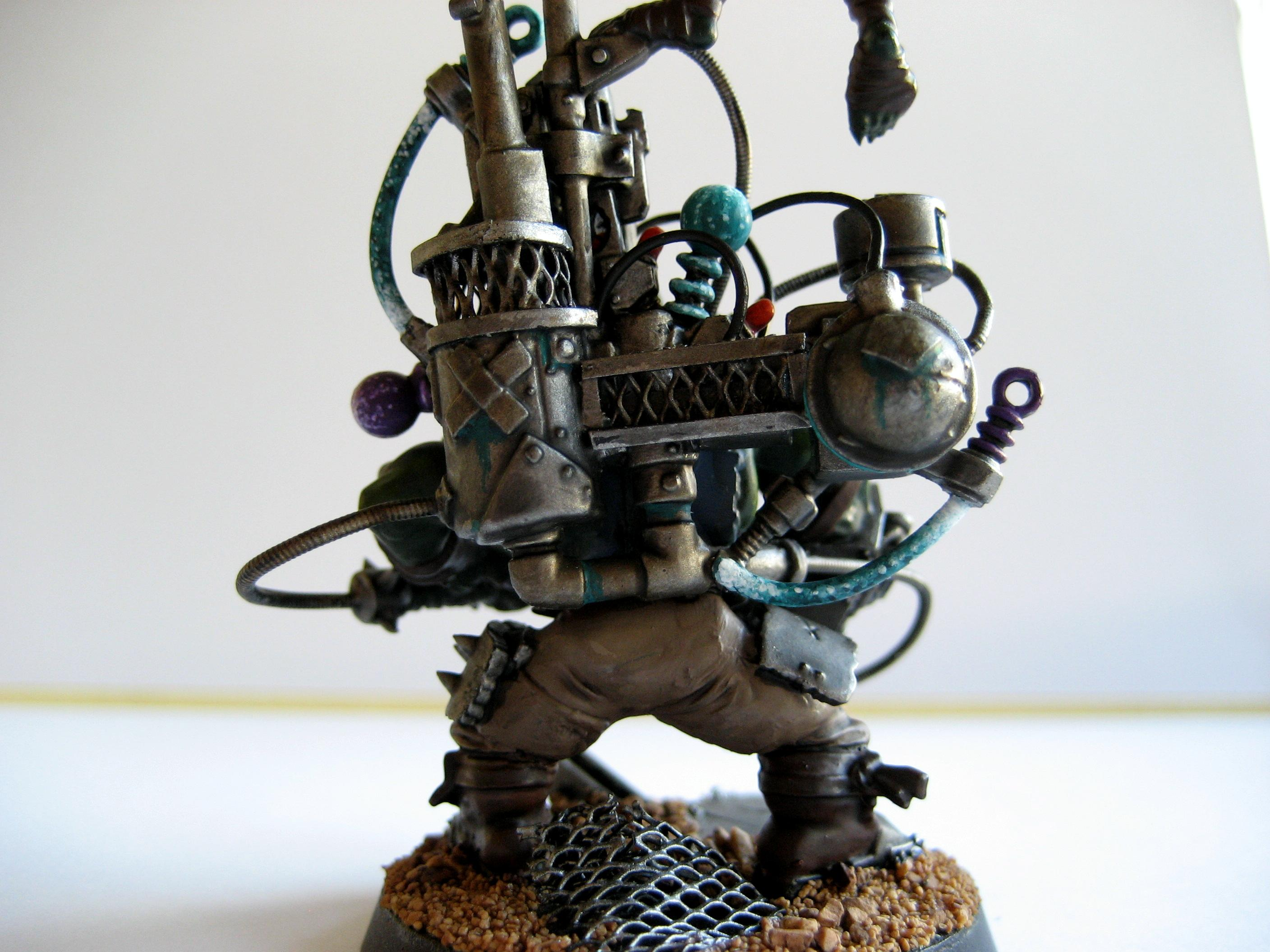 Conversion, Kustom Force Field, Looted, Orks, Scratch Build, Waaagh, Warhammer 40,000