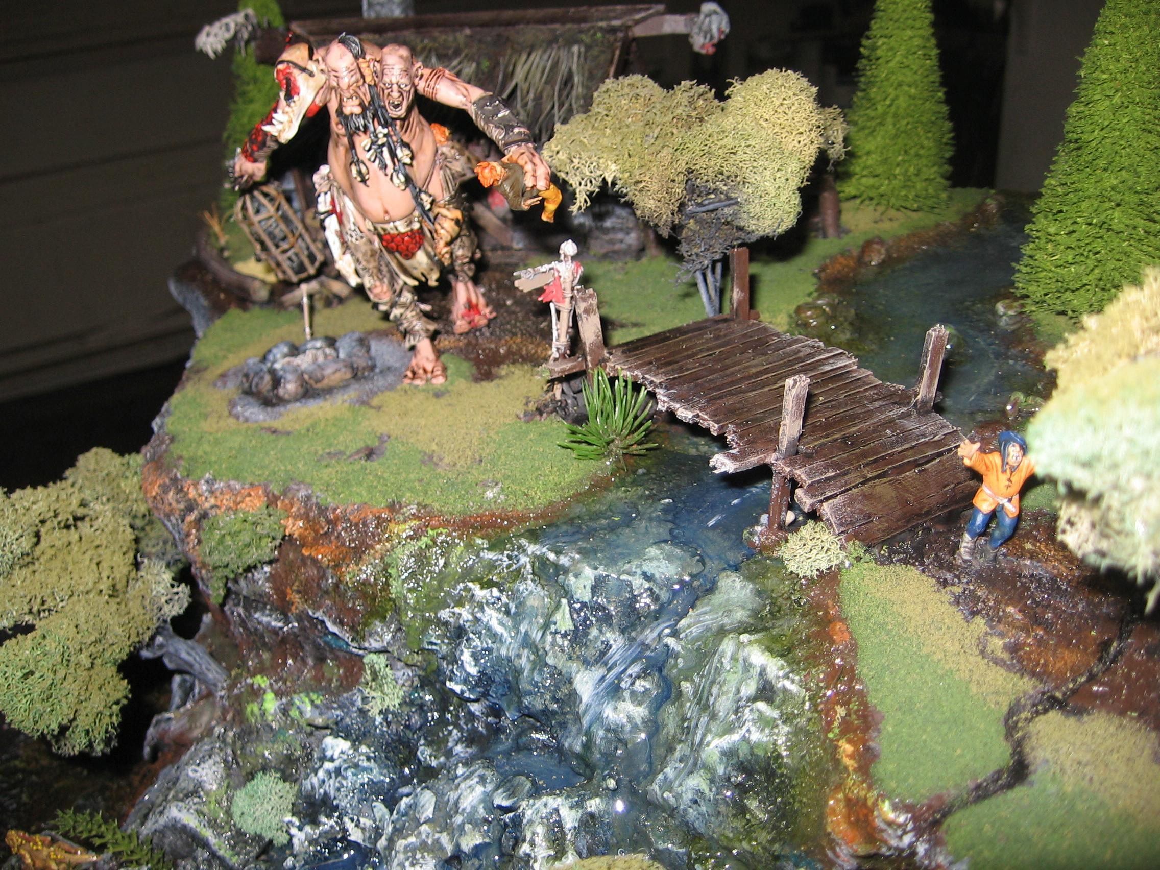 Diorama, Giant, Warhammer Fantasy