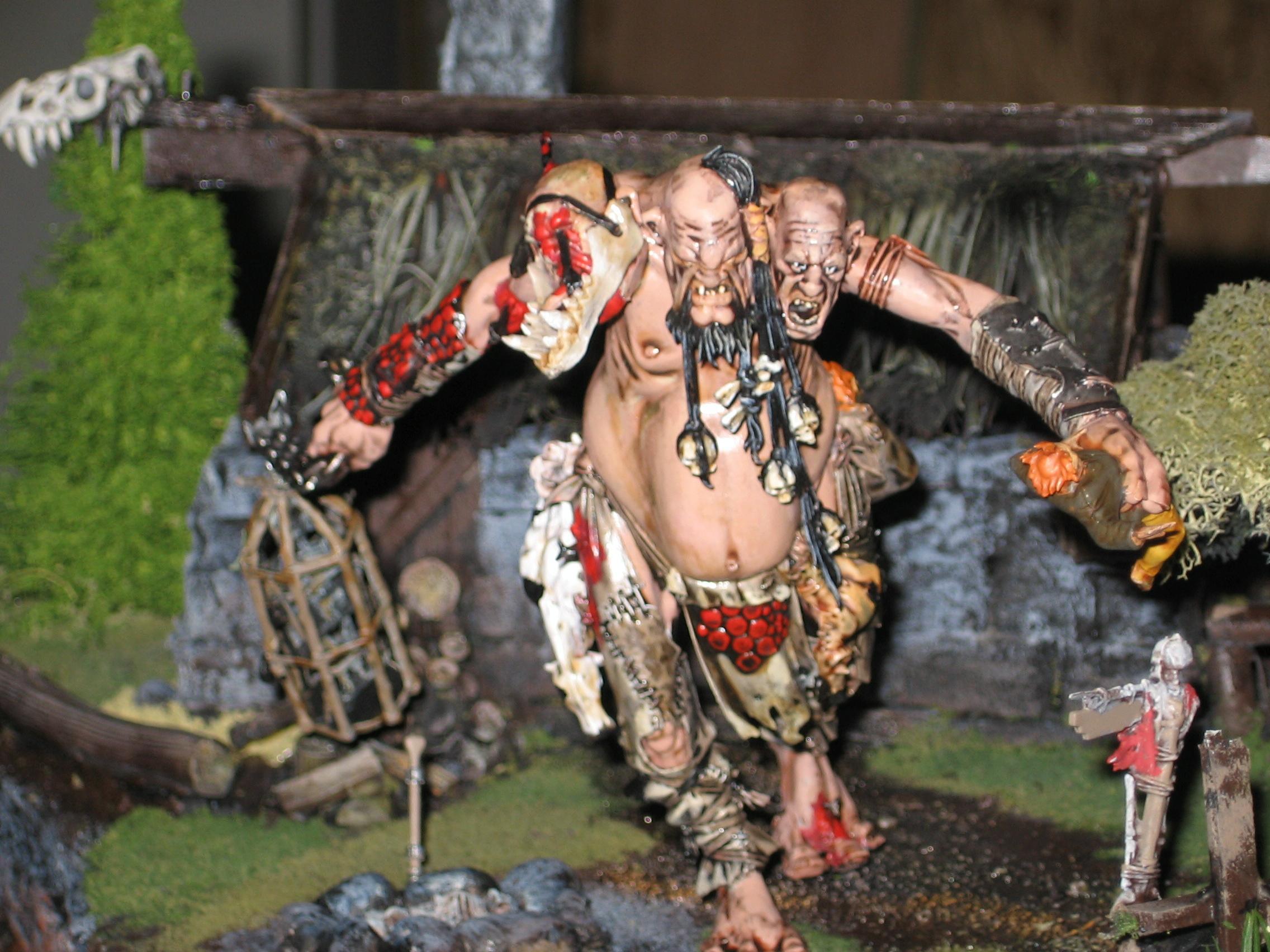 Diorama, Fanrasy, Giant, Warhammer Fantasy