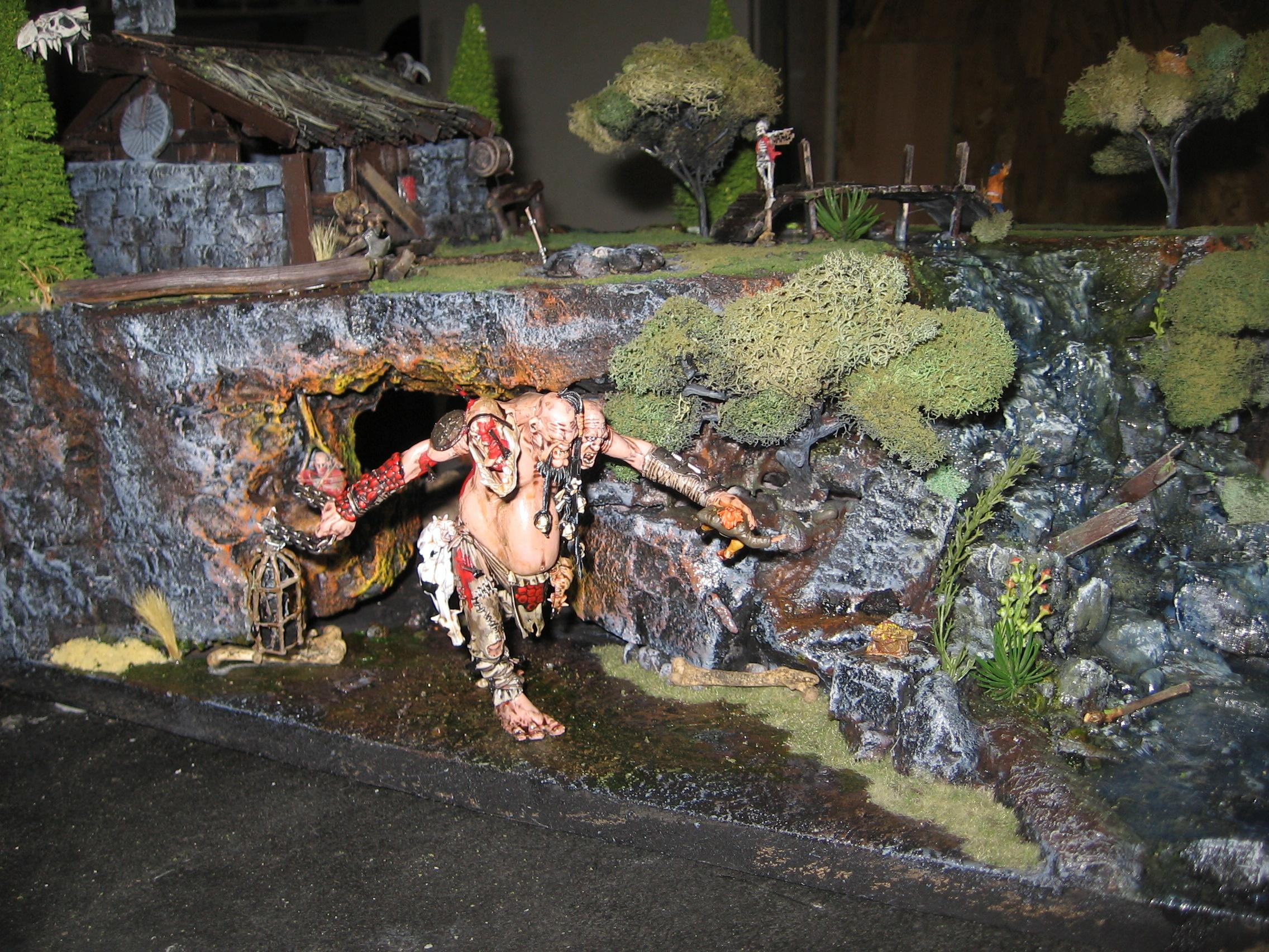 Diorama, Giant, Warhammer Fantasy, Work In Progress