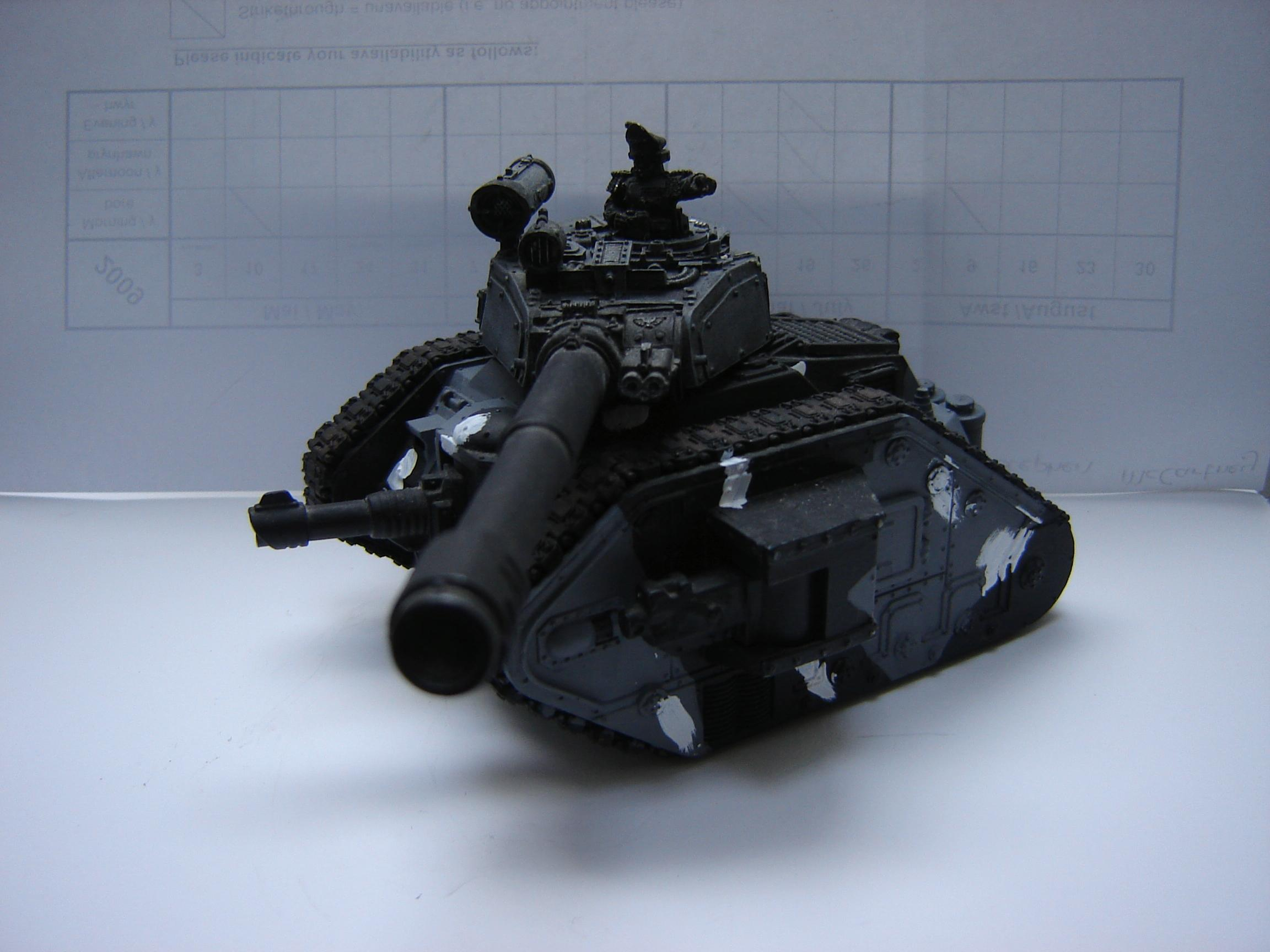 Armored Company, Basilisk, Hellhound, Imperial Guard, Leman Russ, Tank, Urban Camo, Vanquisher, Warhammer 40,000, Work In Progress