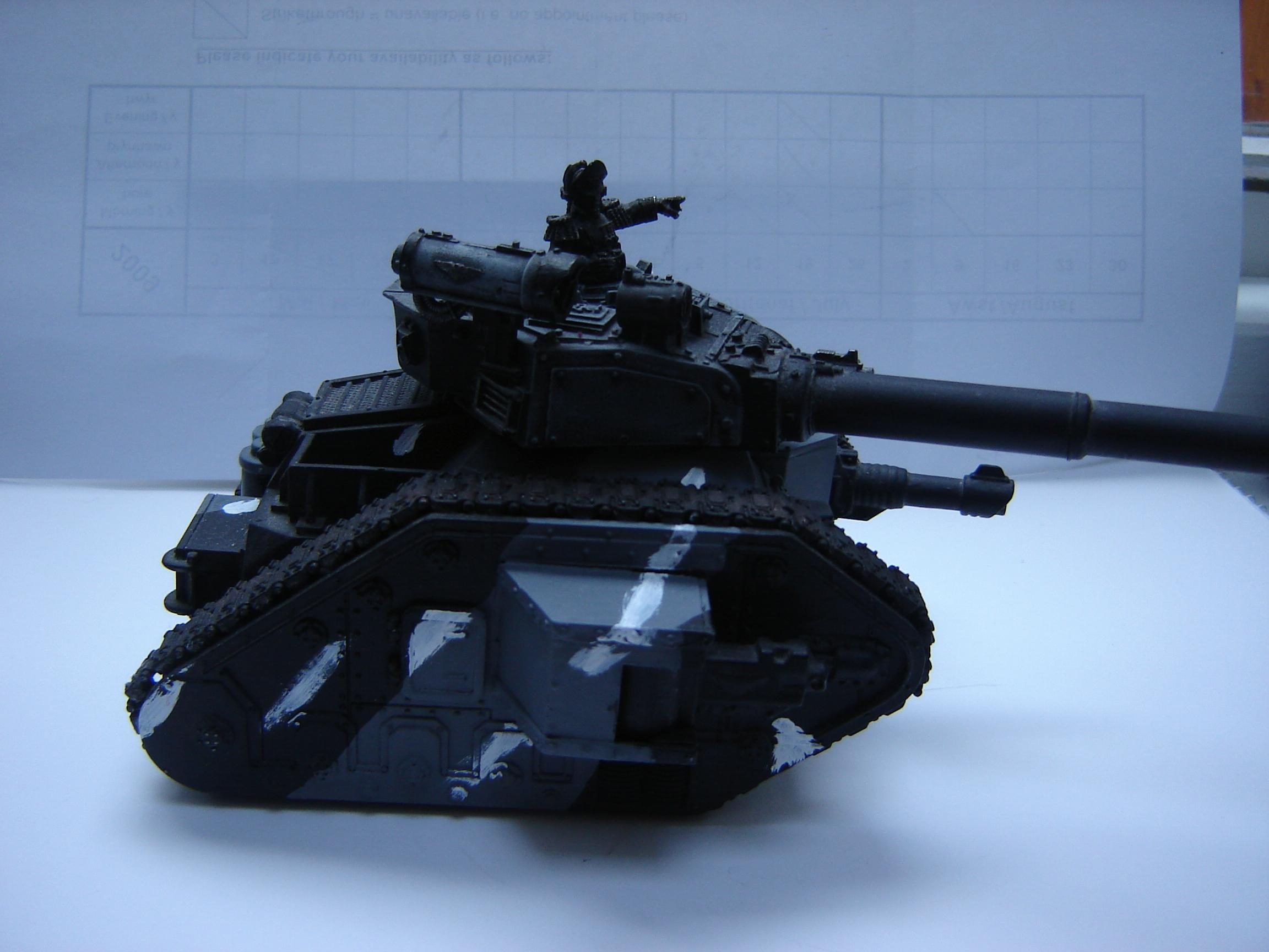Armored Company, Imperial Guard, Leman Russ, Tank, Urban Camo, Vanquisher, Warhammer 40,000, Work In Progress