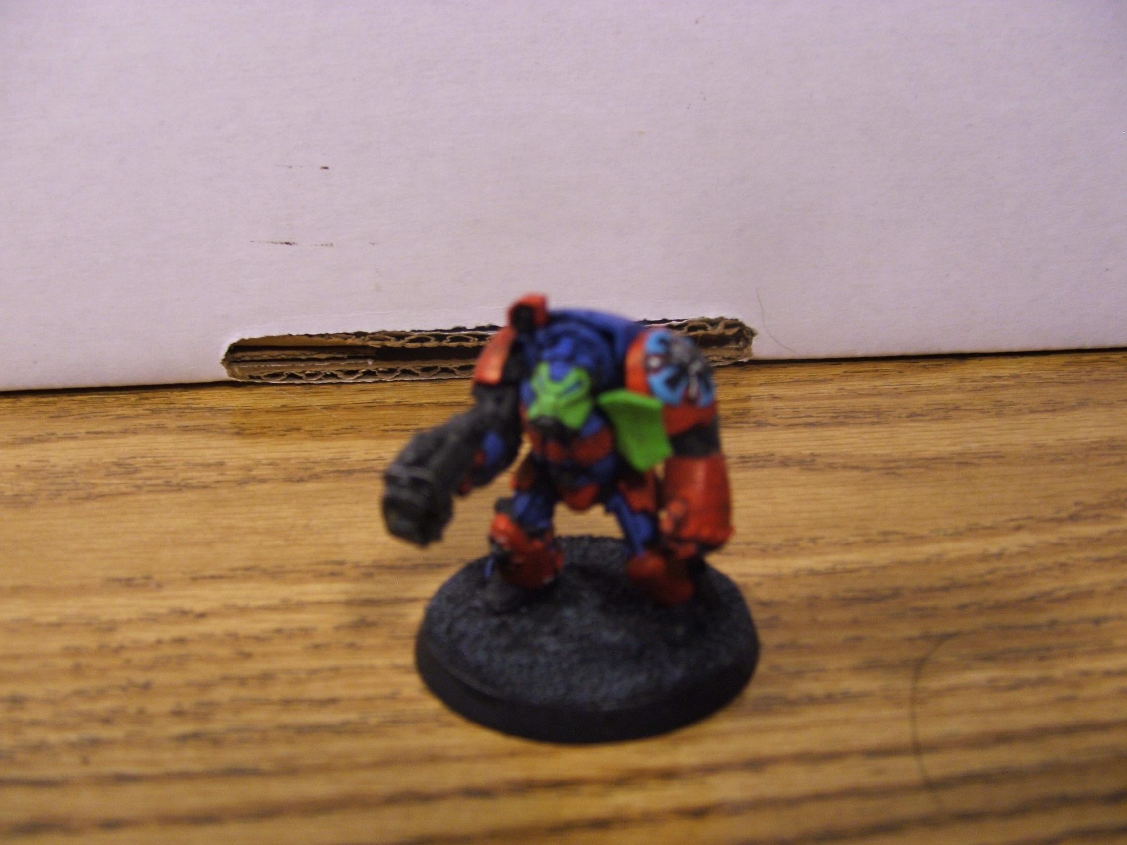 Blurred Photo, Space Marines, Tda, Terminator Armor