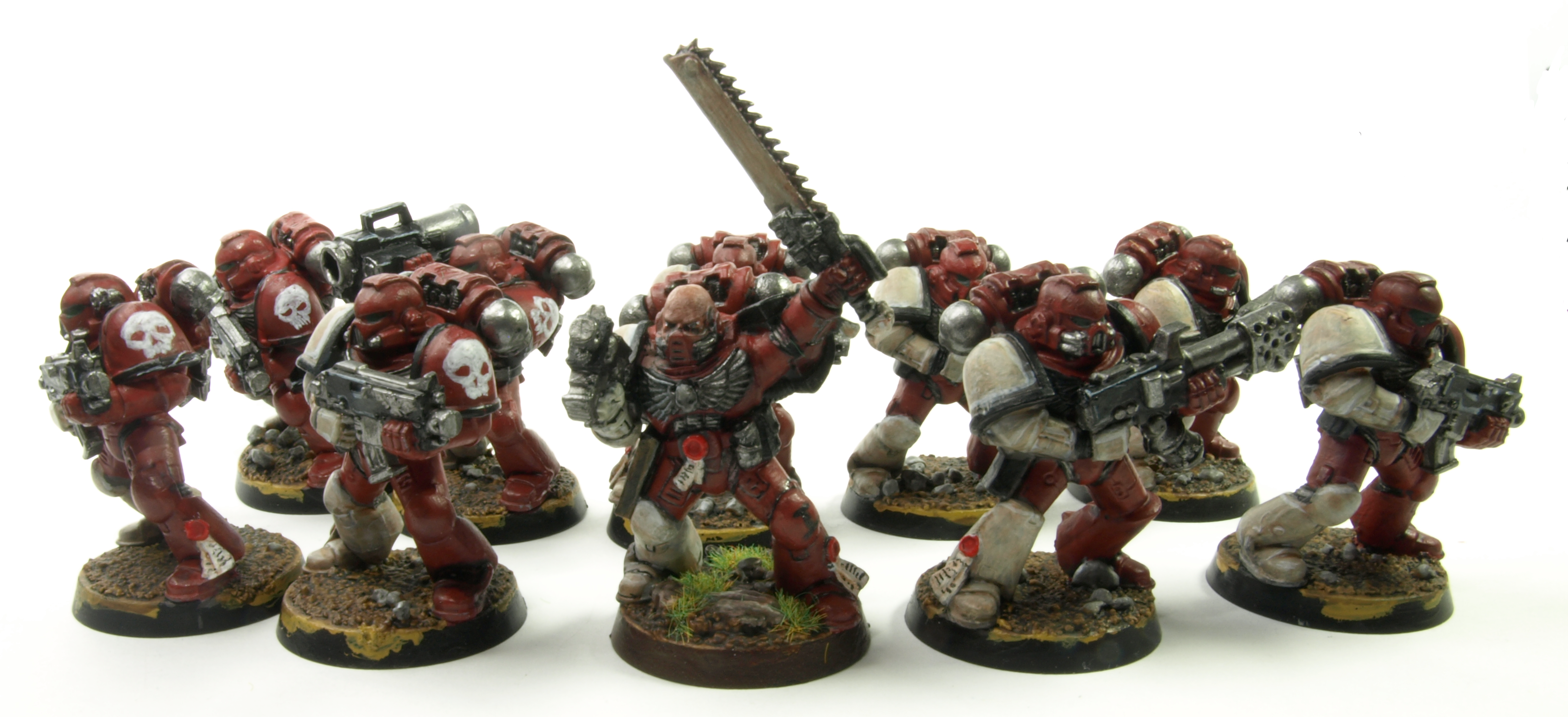 Diy Chapter, Space Marines, Tactical Squad, Warhammer 40,000