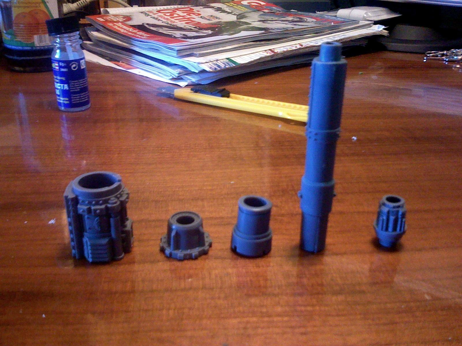 shadowsword gun parts glued