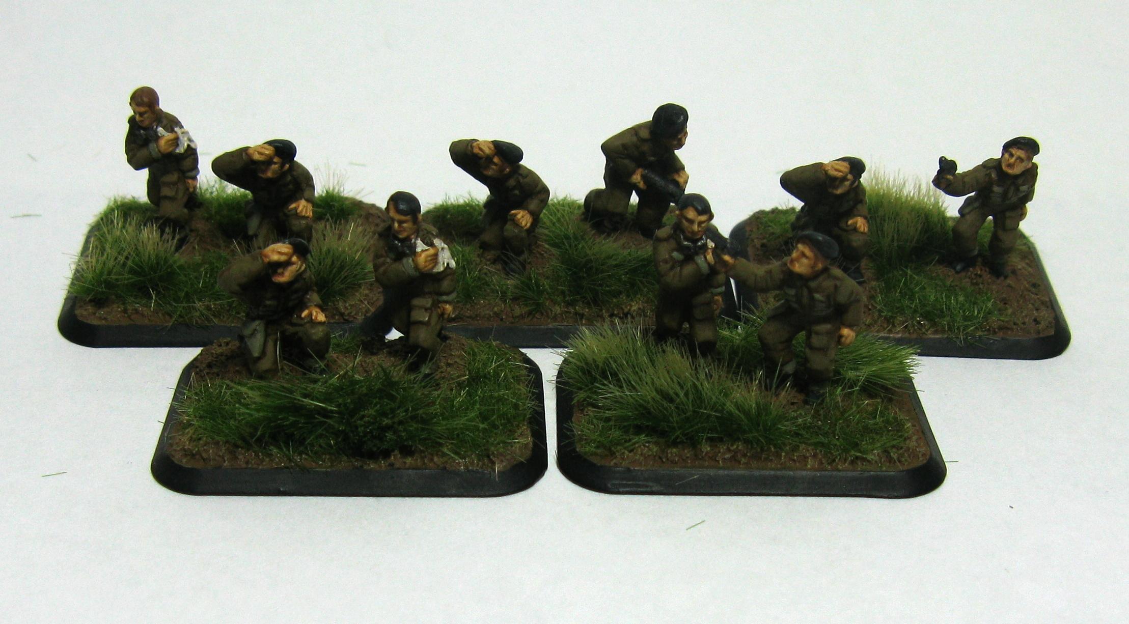 15mm, British, Flames Of War, Tank Crew, World War 2