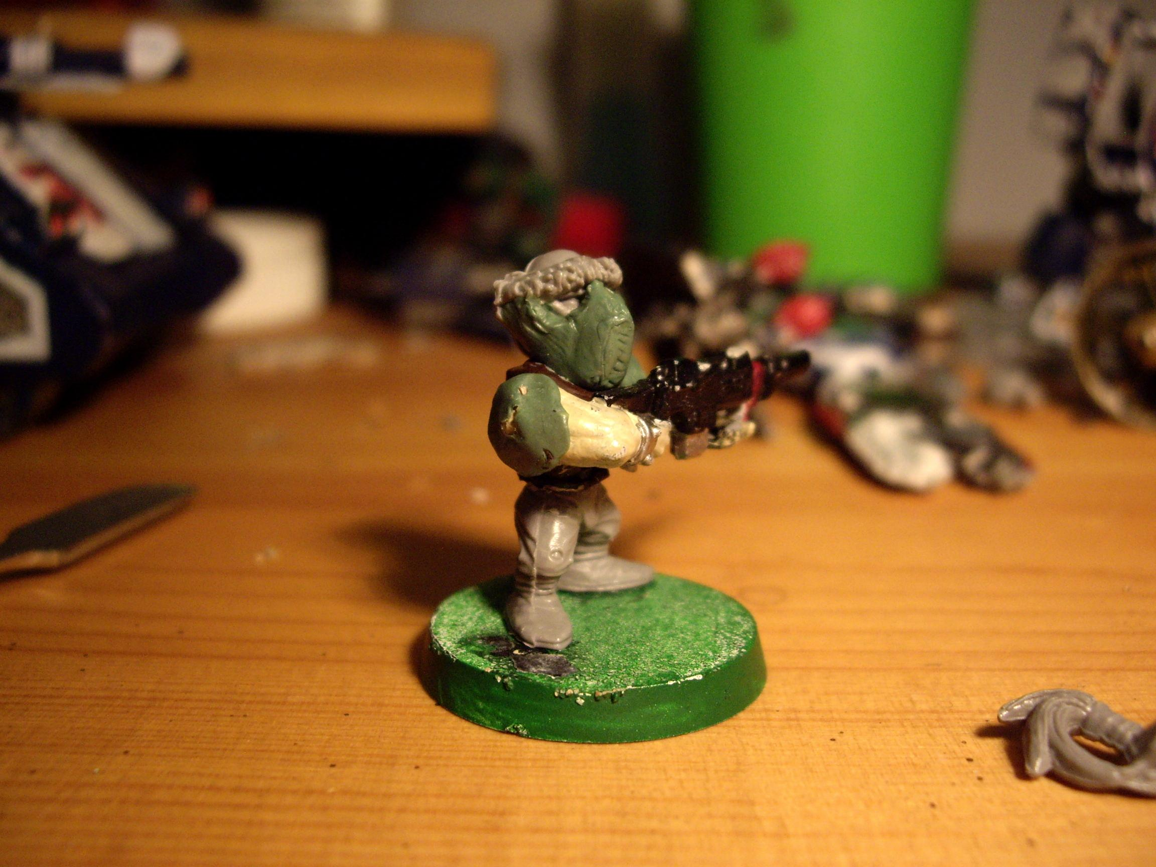 Deff Grotz O' Kreig (Gears of war inspired)