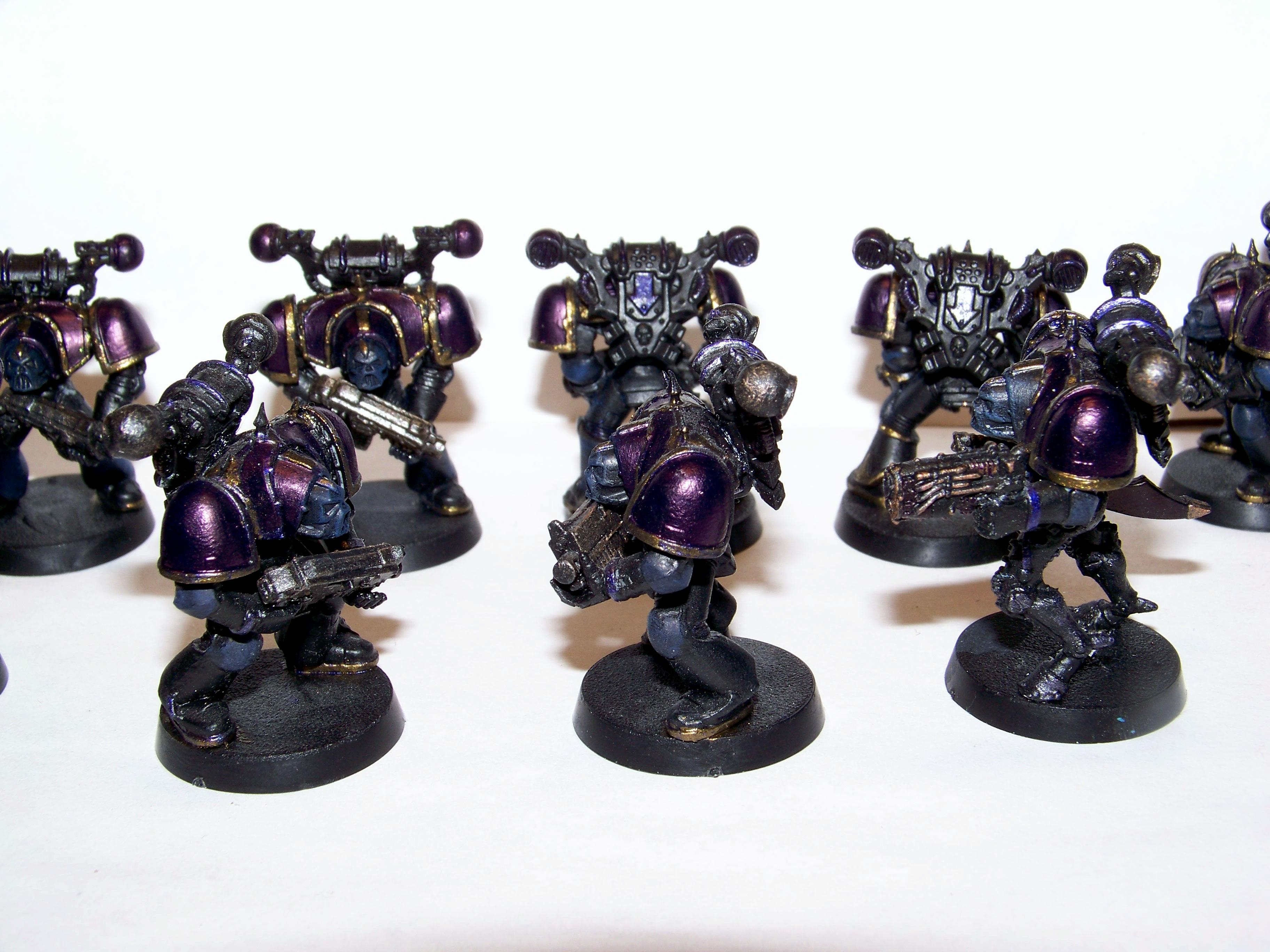 Chaos Space Marines, Conversion, Epic, Knights