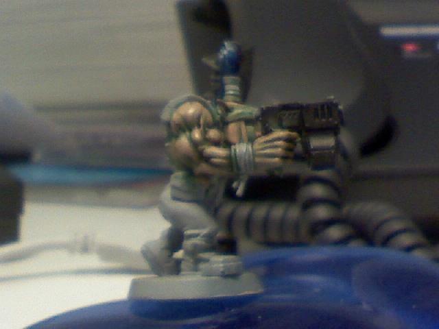 Blurred Photo, Orks, Work In Progress