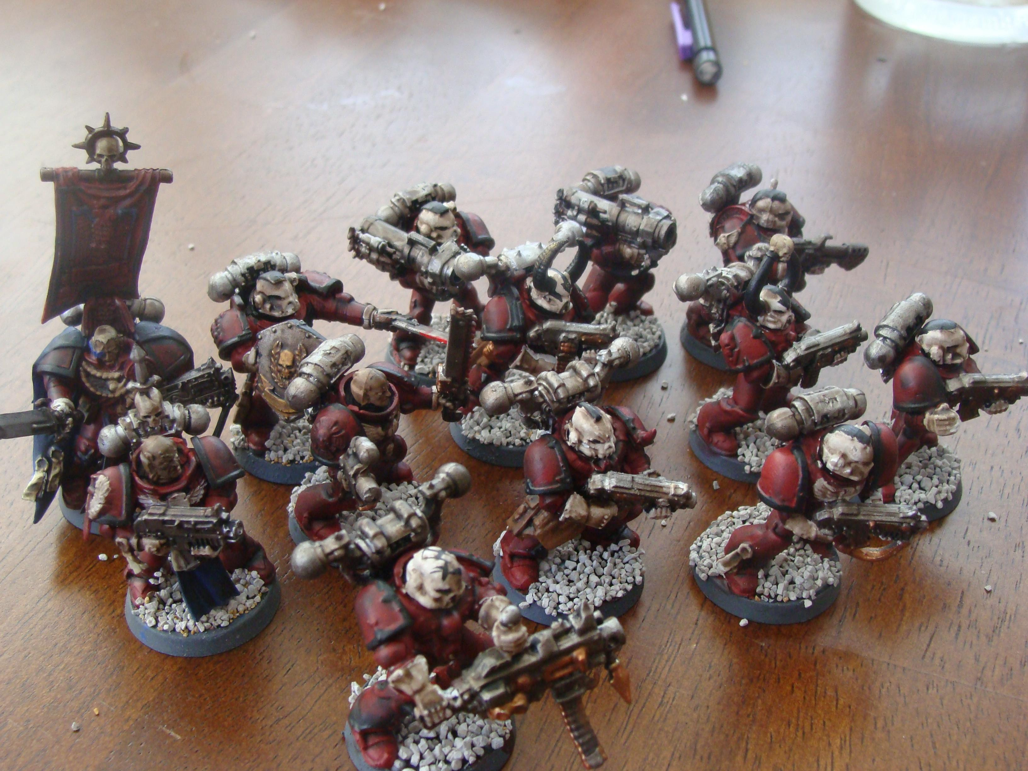 Space Marines, The new recruits.