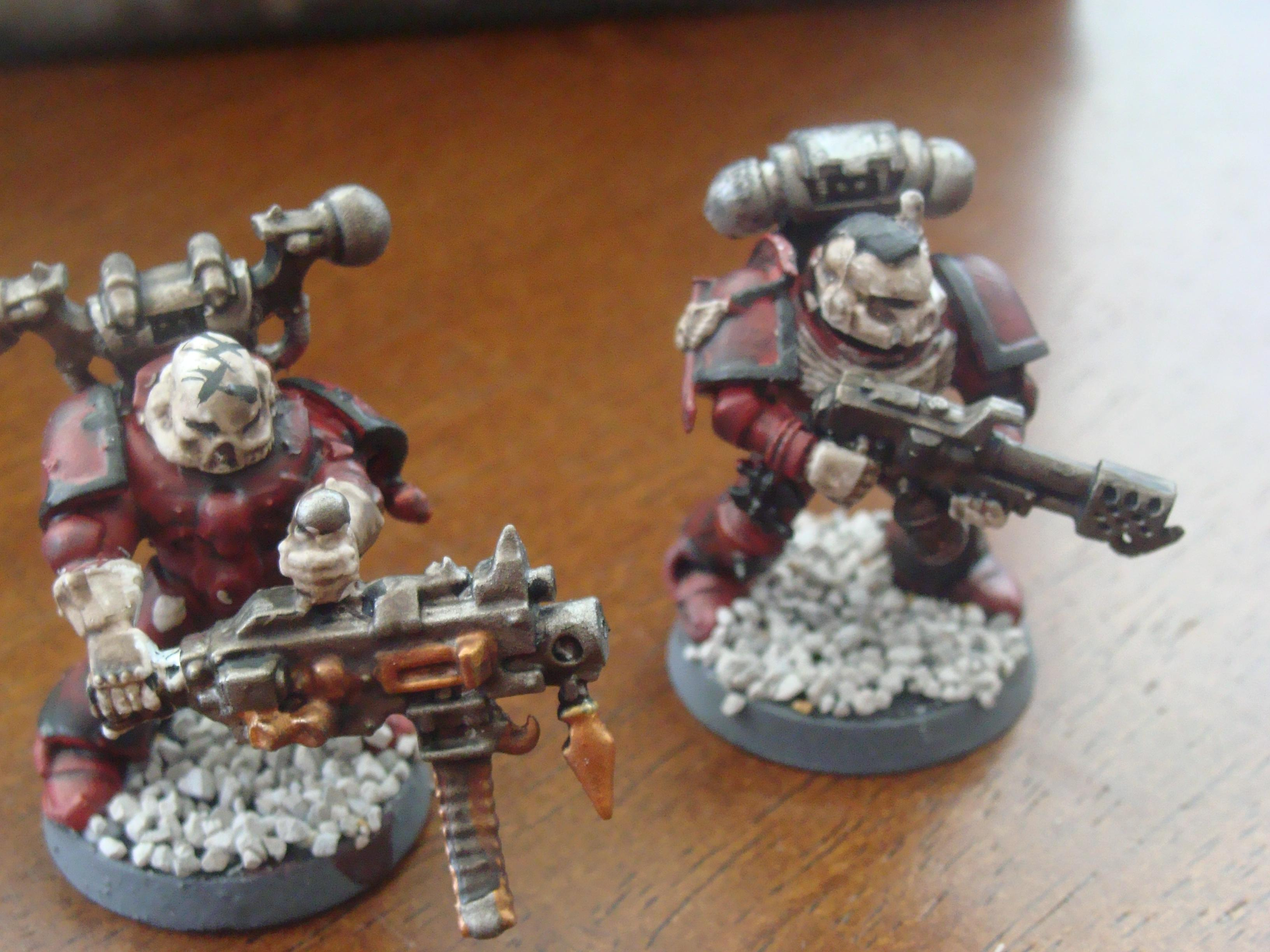 Chaos Space Marines, Heavy Weapon