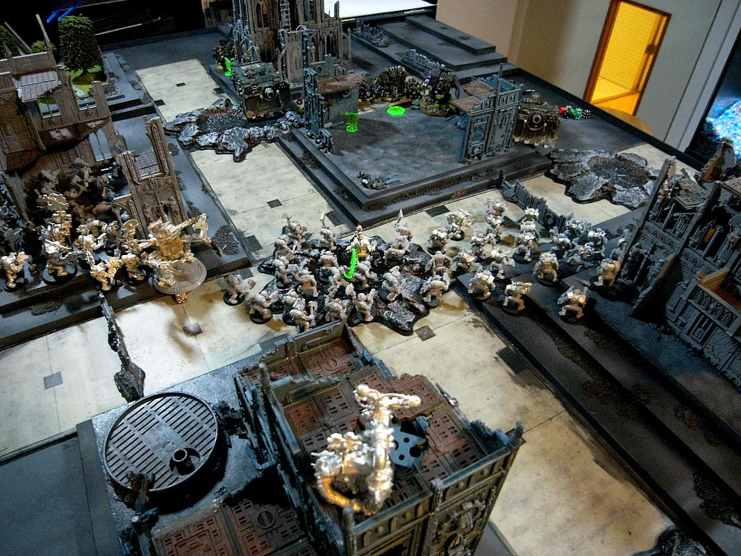 Battle Report, Chaos Space Marines, Cities Of Death, Nurgle, Orks, Warhammer 40,000