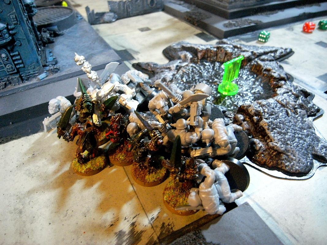Battle Report, Chaos Space Marines, Cities Of Death, Nurgle, Orks
