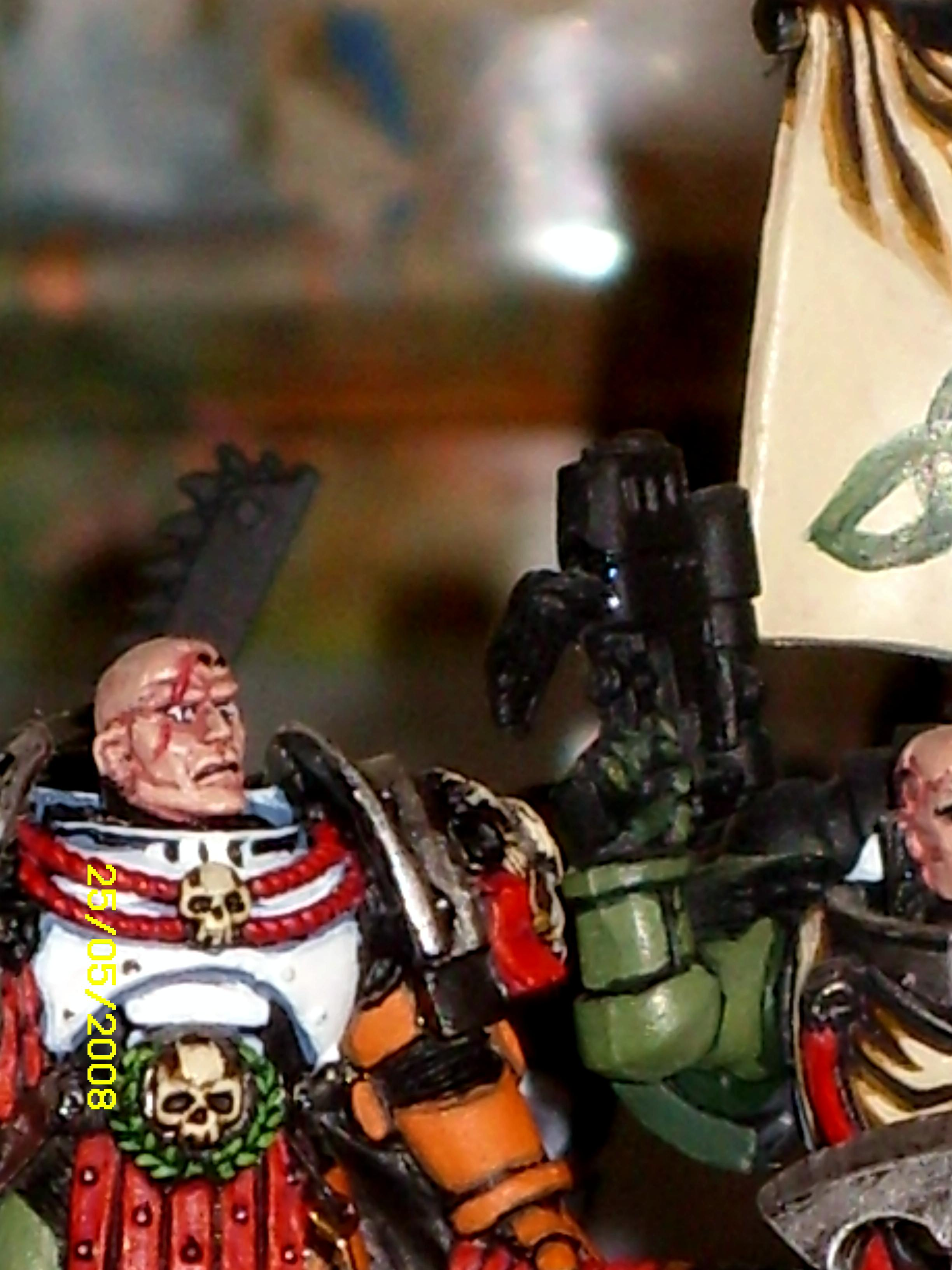 Face, Scar, Space Marines