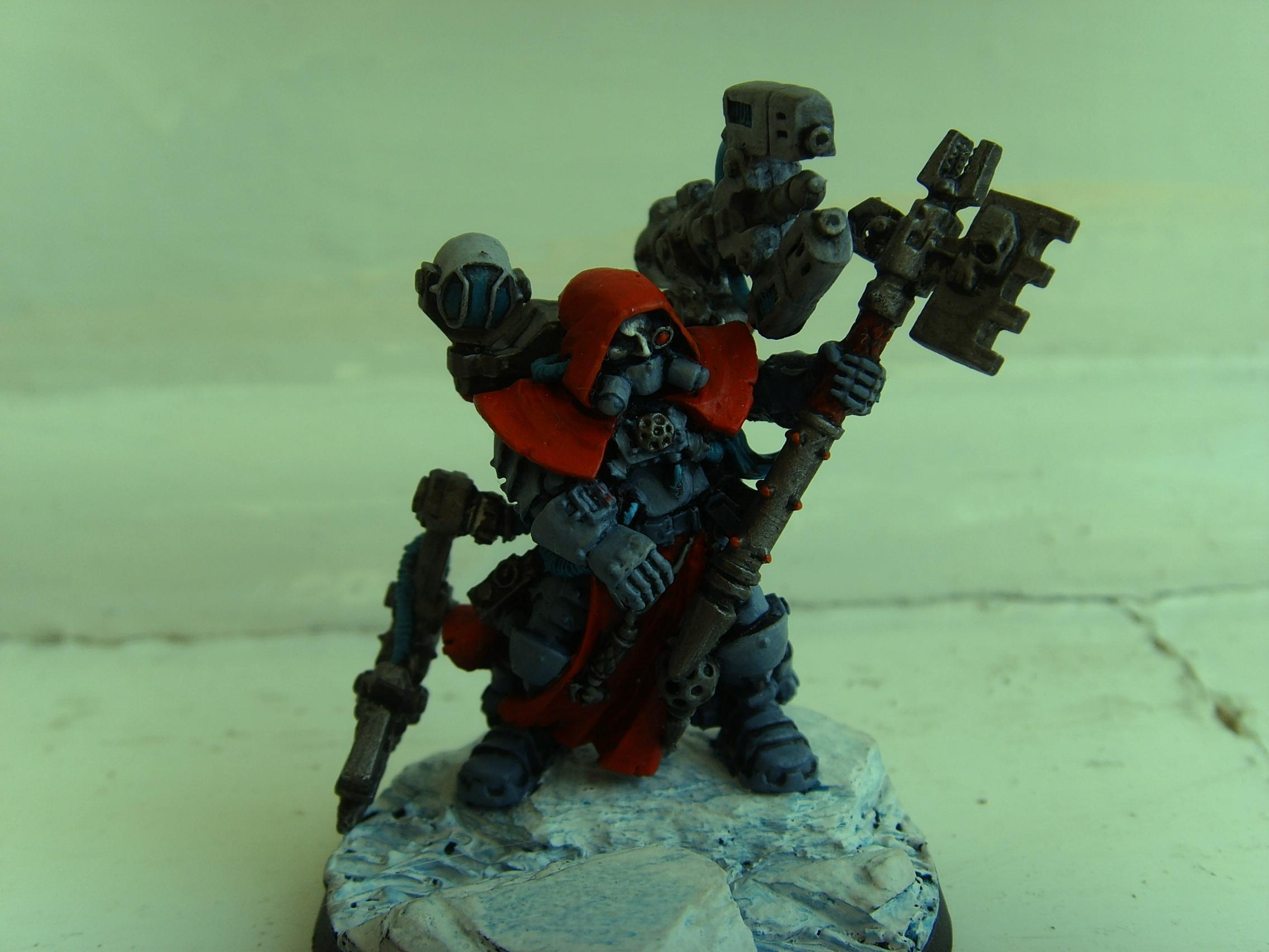 Adeptus Mechanicus, Enginseer, Space Marines, Tech Priest, Techmarine, Warhammer 40,000