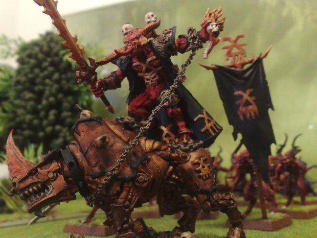 Bloodcrushers, Daemons, Khorn, Skulltaker