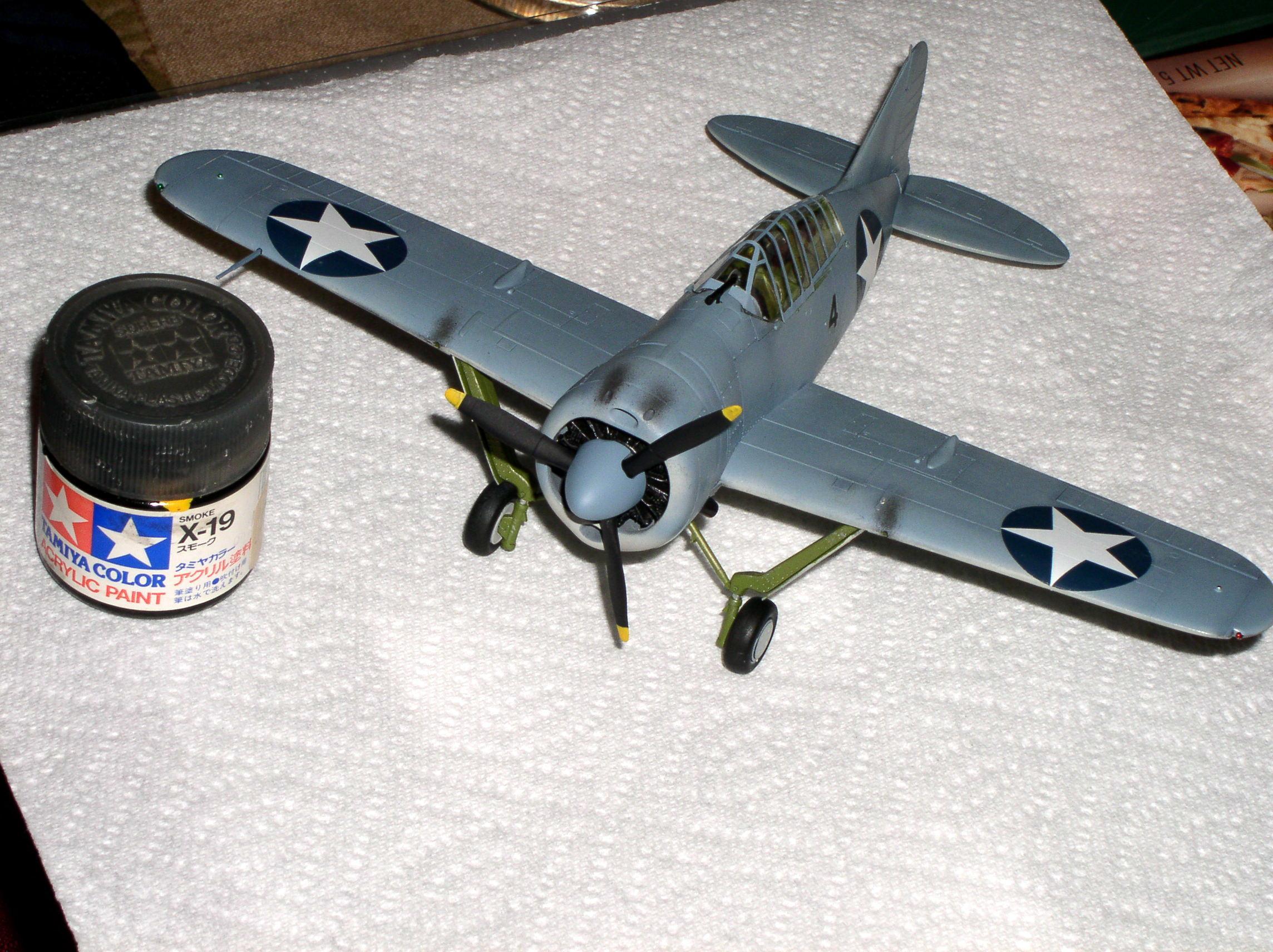 Airplane, Brewster Buffalo, Usaaf, World War 2