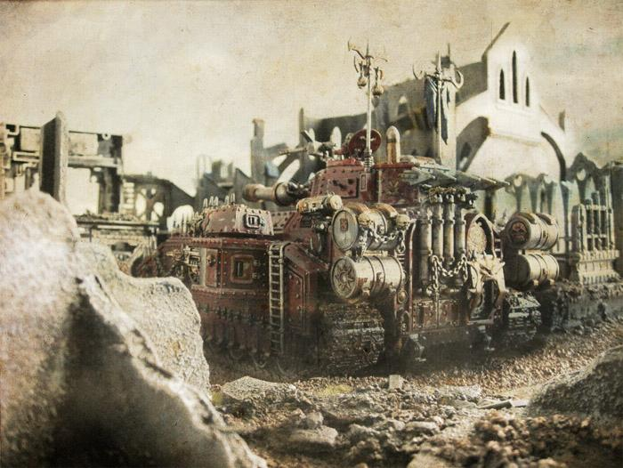 Awesome, Baneblade, Battle Report, Chaos, Lost And The Damned, Photoshop