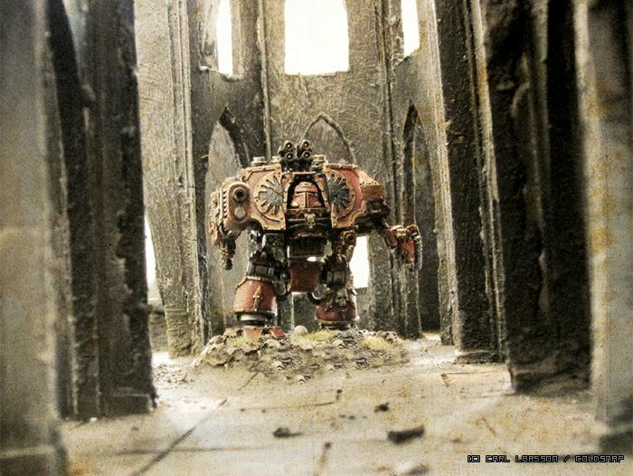 Action, Awesome, Battle Report, Chaos Space Marines, Dreadnought, Terrain