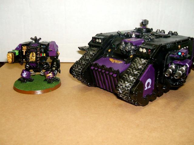 Dread 4 and Land Raider