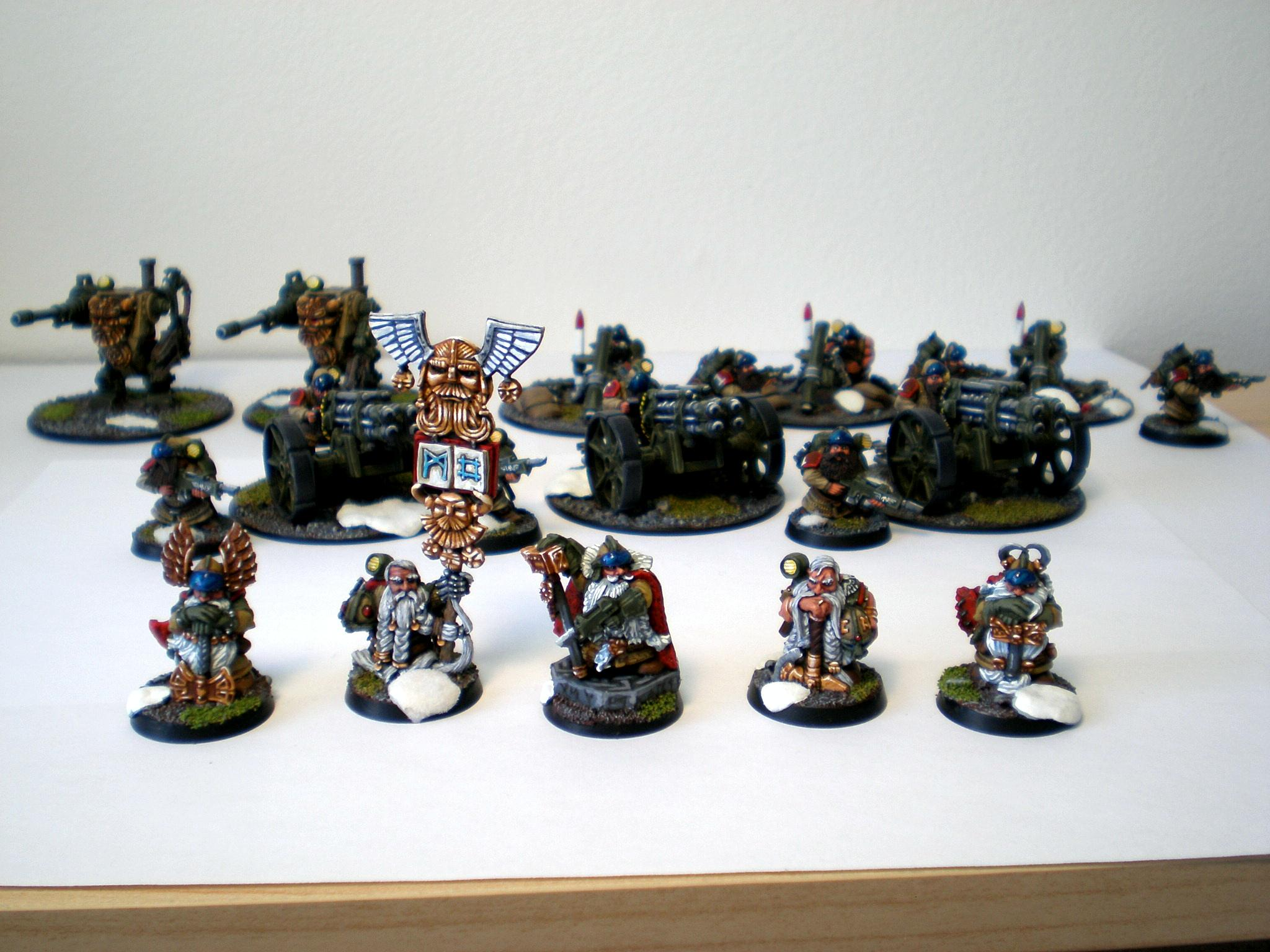 Command Squad, Imperial Guard, Squats, Warhammer 40,000
