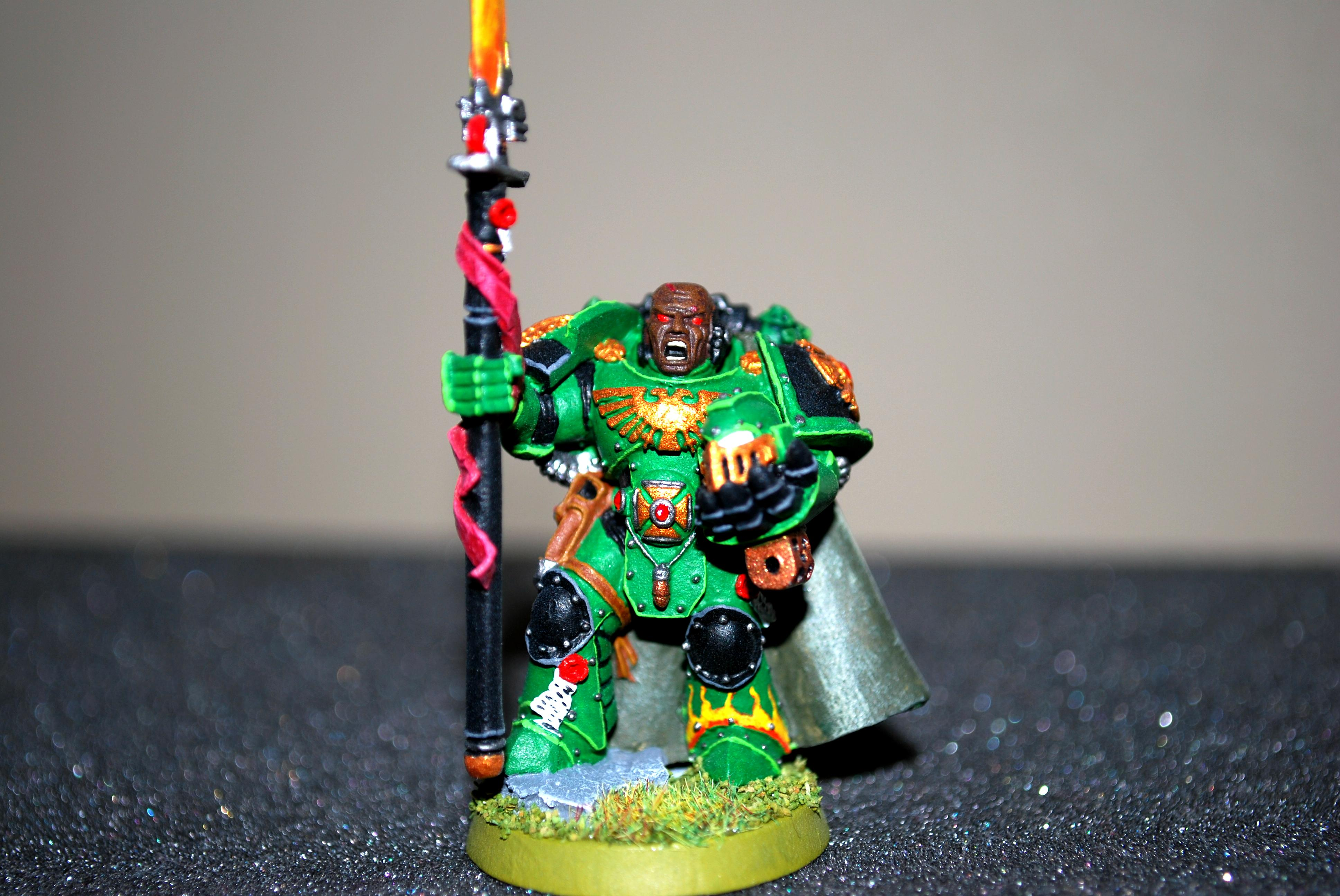 Captain, Space Marines, Warhammer 40,000