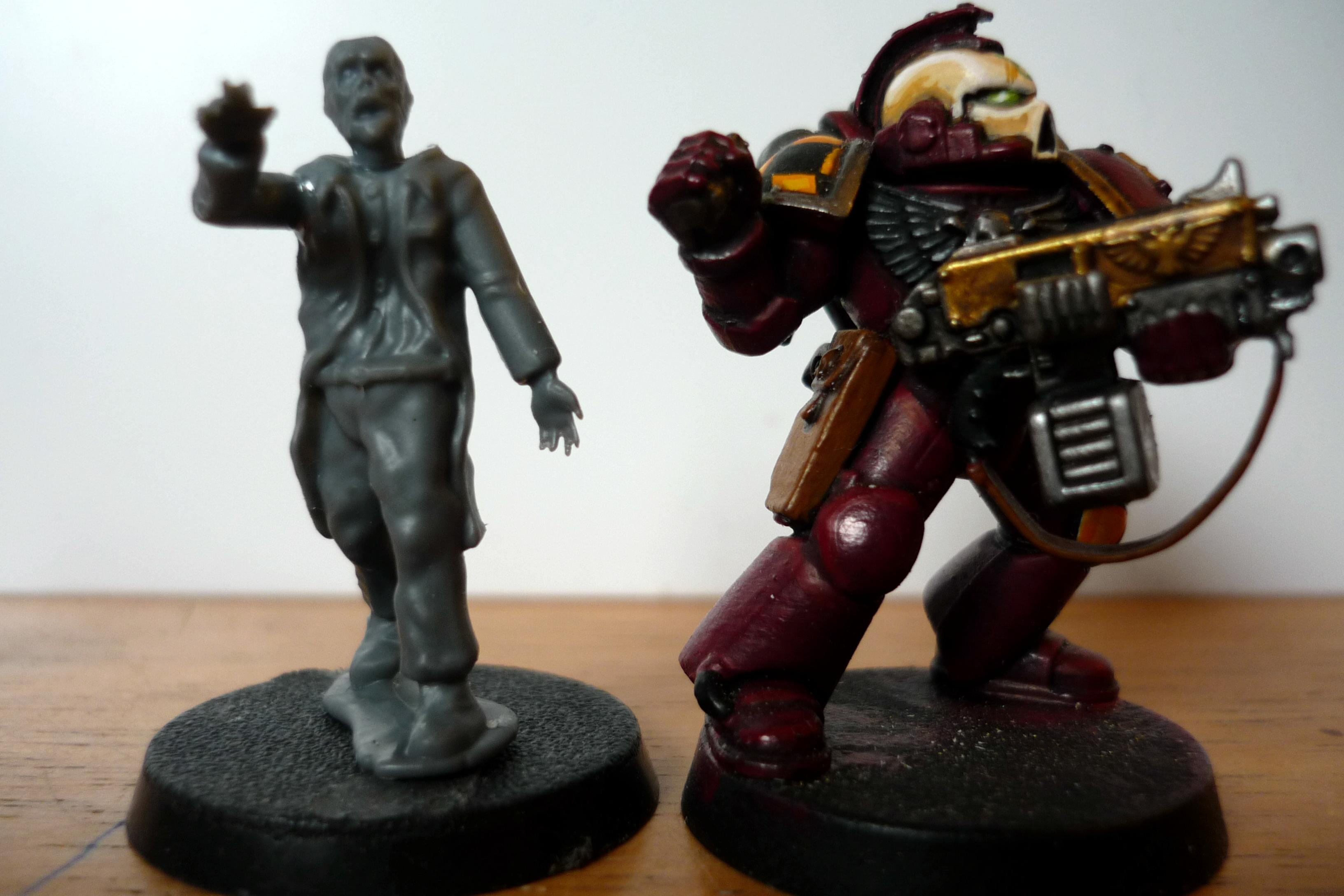 Scale, Space Marinei, Wargames Factory, Zombie