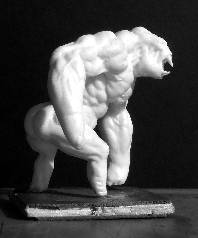 Gorilla, Kriegaffe, Weird Wars, Work In Progress