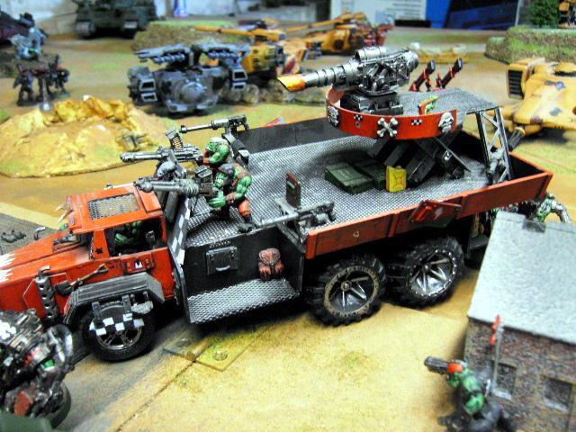 Battlewagon, Orks, Battle wagon side