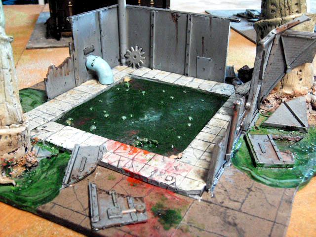 Digestion Pool, Scratch Build, Terrain, Tyranids