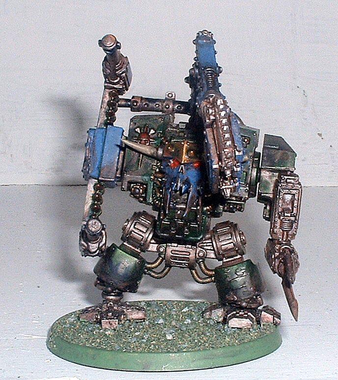 Conversion, Deff Dread, Dreadnought, Orks, Warhammer 40,000
