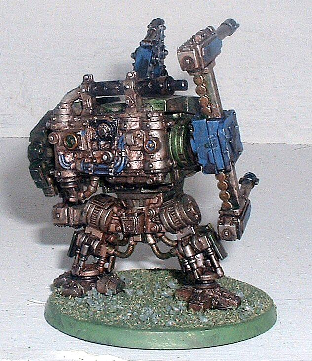 Dreadnought, Orks, Looted Ork Dread (Rear)