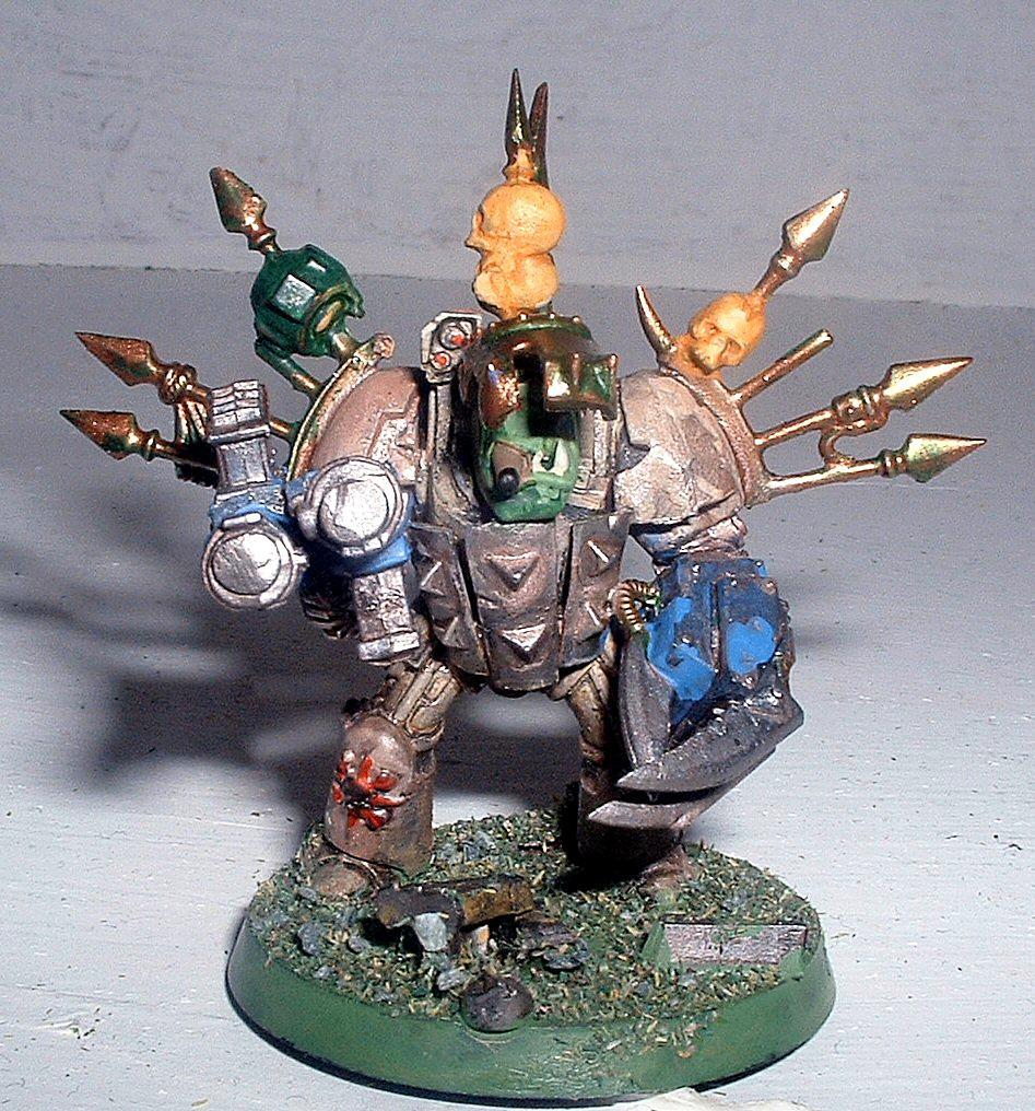 Deathwing, Meganob, Nob, Orks, Terminator Armor