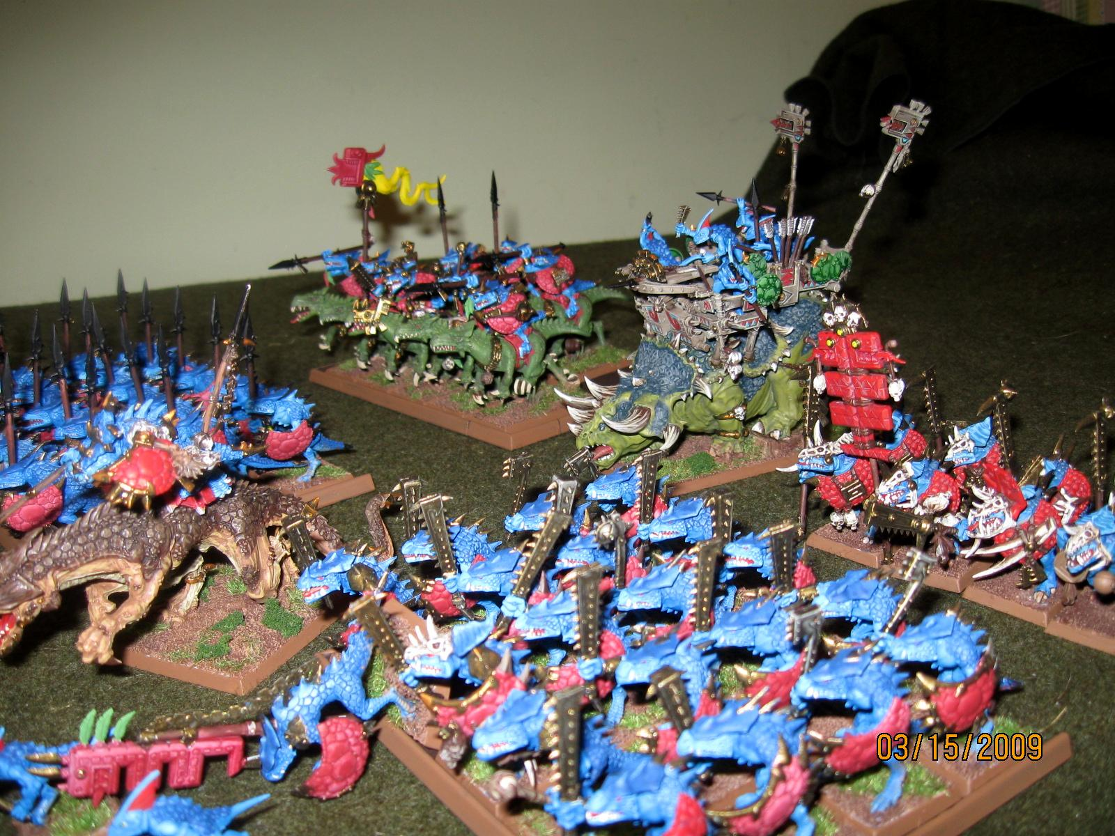 Lizardmen, Warhammer Fantasy Battles