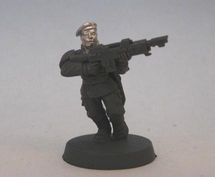 West Wind, Cadian - British Beret