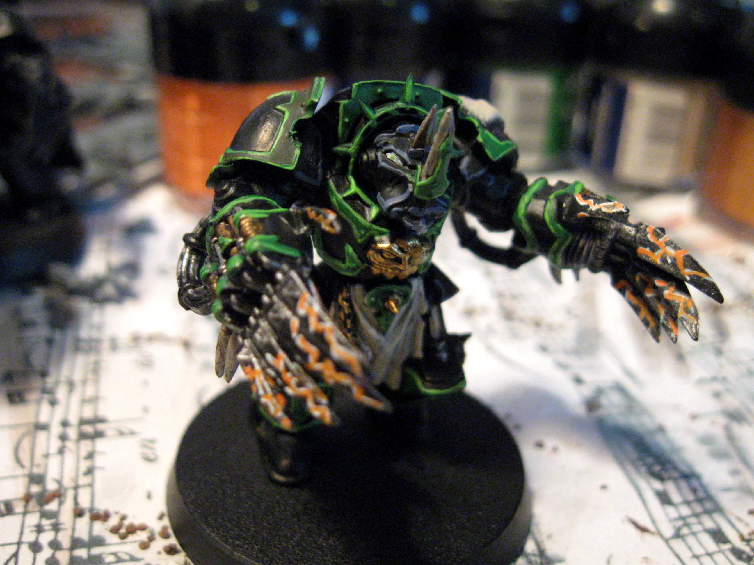 Chaos Space Marines, Lightning Claws, Terminator Armor, Warhammer 40,000