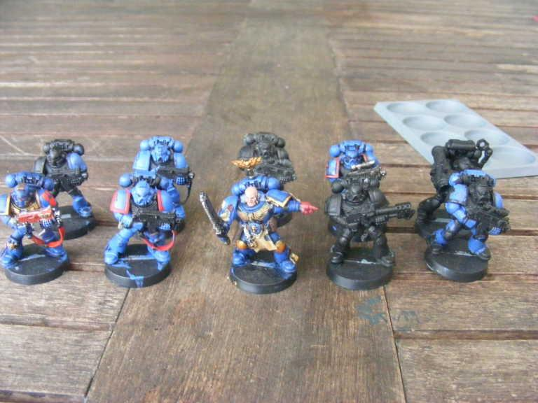 Space Marines, Tactical Squad, Warhammer 40,000