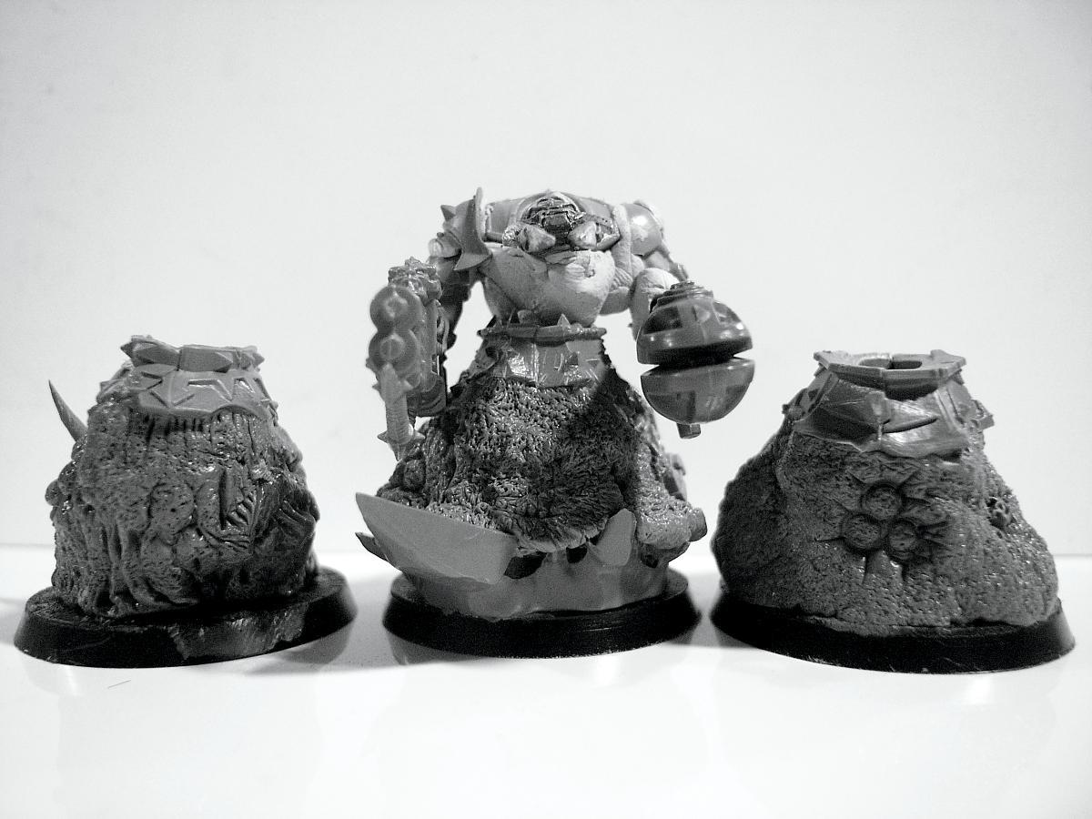 Beasts Of Nurgle, Chaos Space Marines, Nurgle, Obliterators, Work In Progress