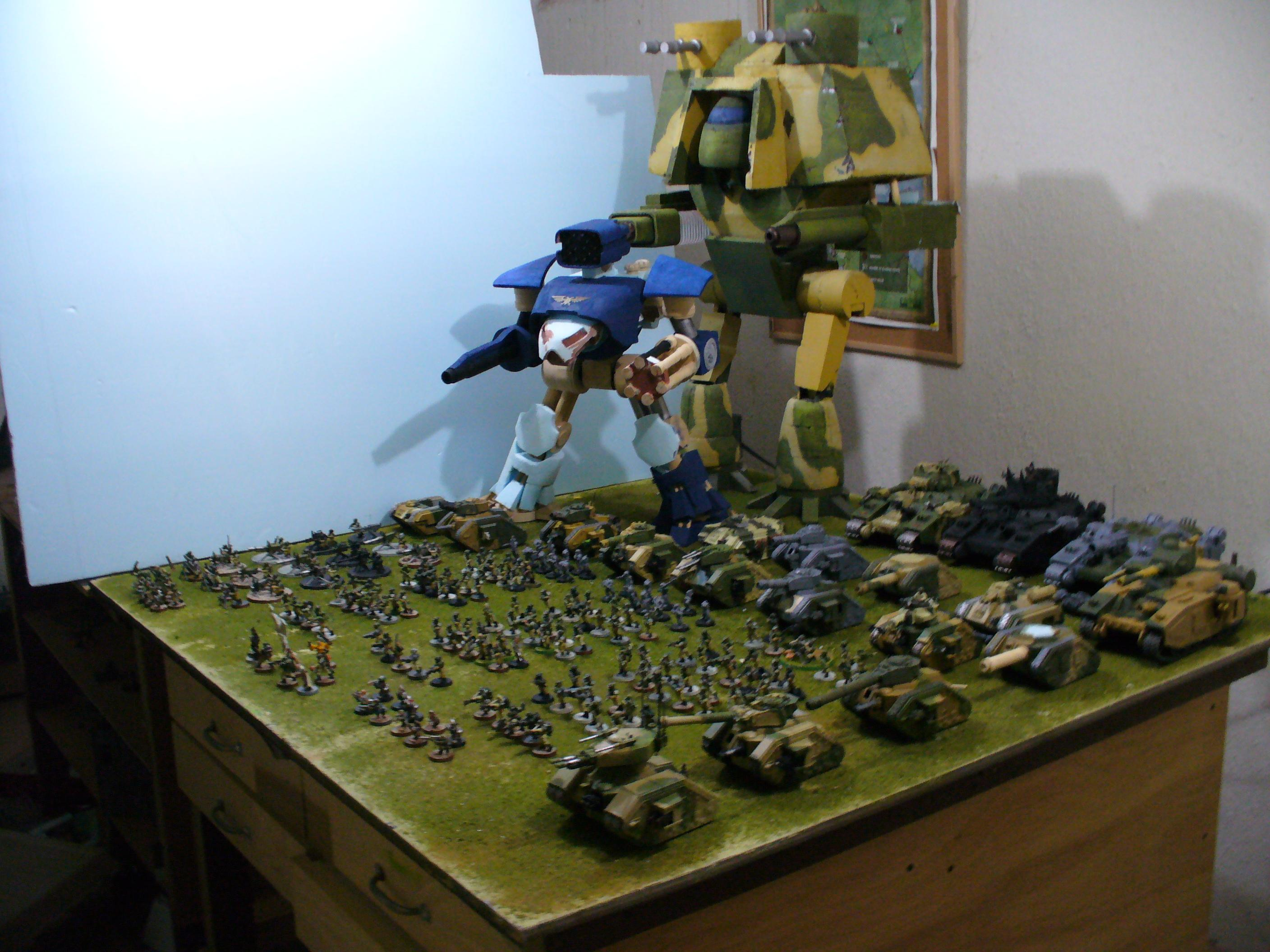 Armored Company, Army, Imperial Guard, Reaver, Titan, Warlord