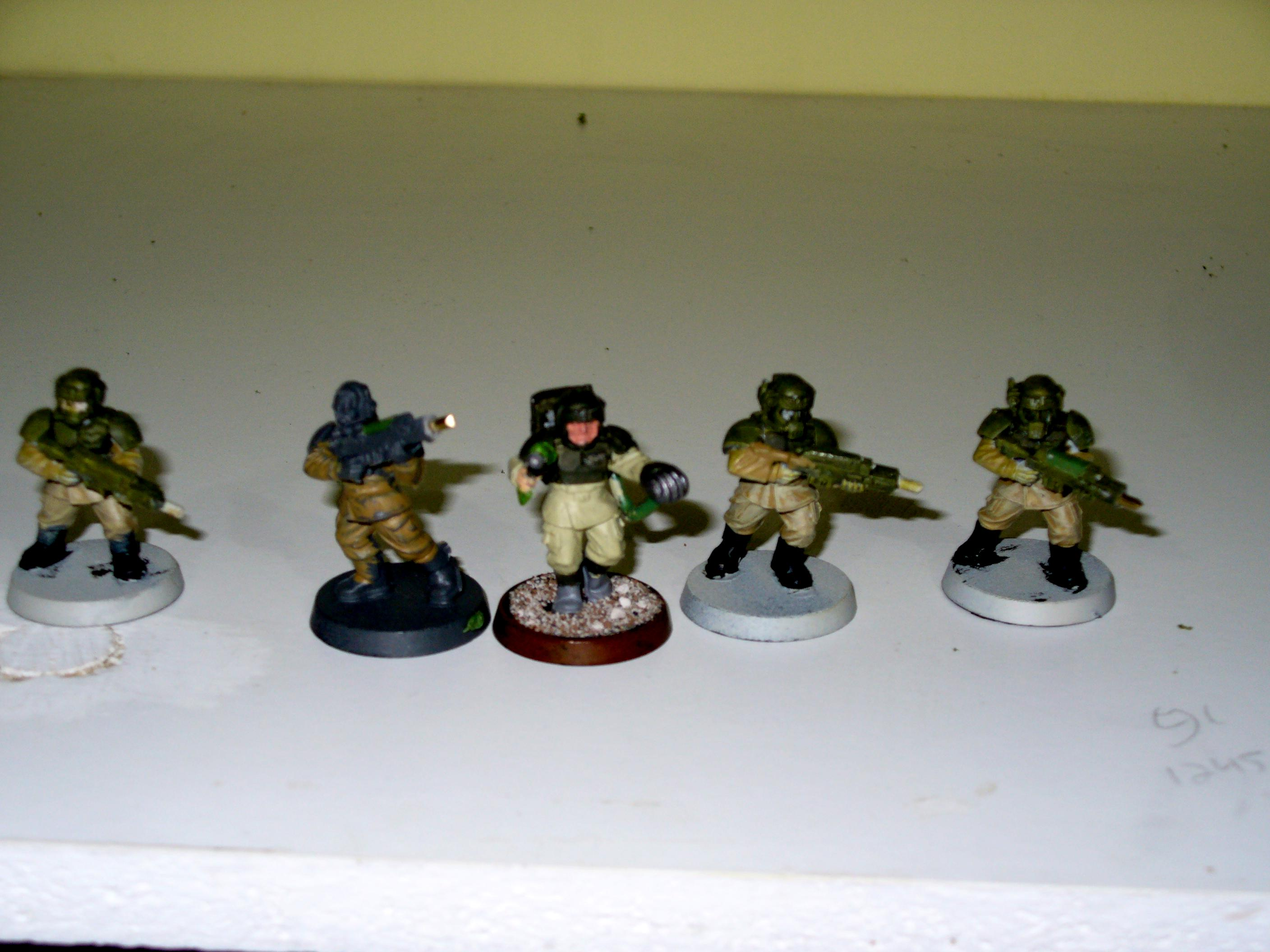 Imperial Guard, platoon command