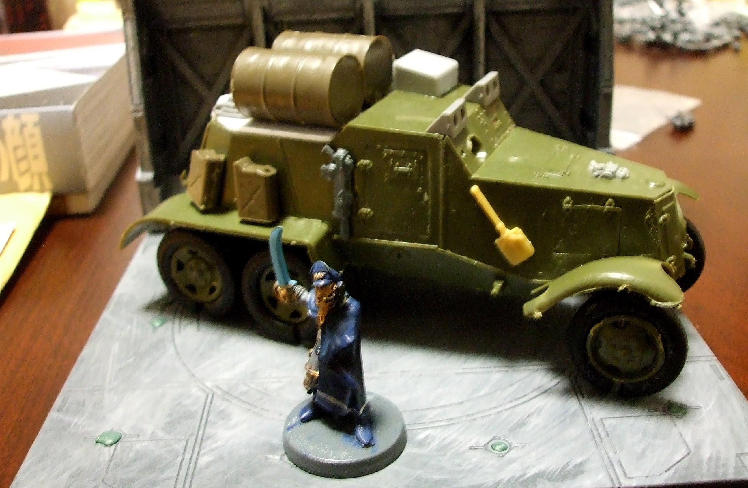 Armored Car, Cargo, Cars, Imperial Guard, Necromunda, Russians, Truck, World War 2