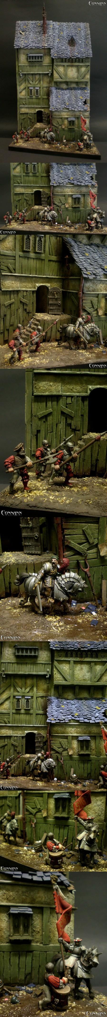 28mm, Awesomeness, Diorama, Warhammer Fantasy