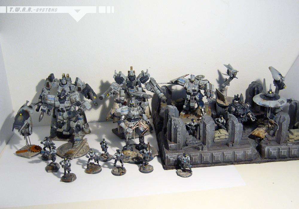 Conversion, Counts As, Gundam, Mecha, Scratch Build, Twar, Warhammer 40,000